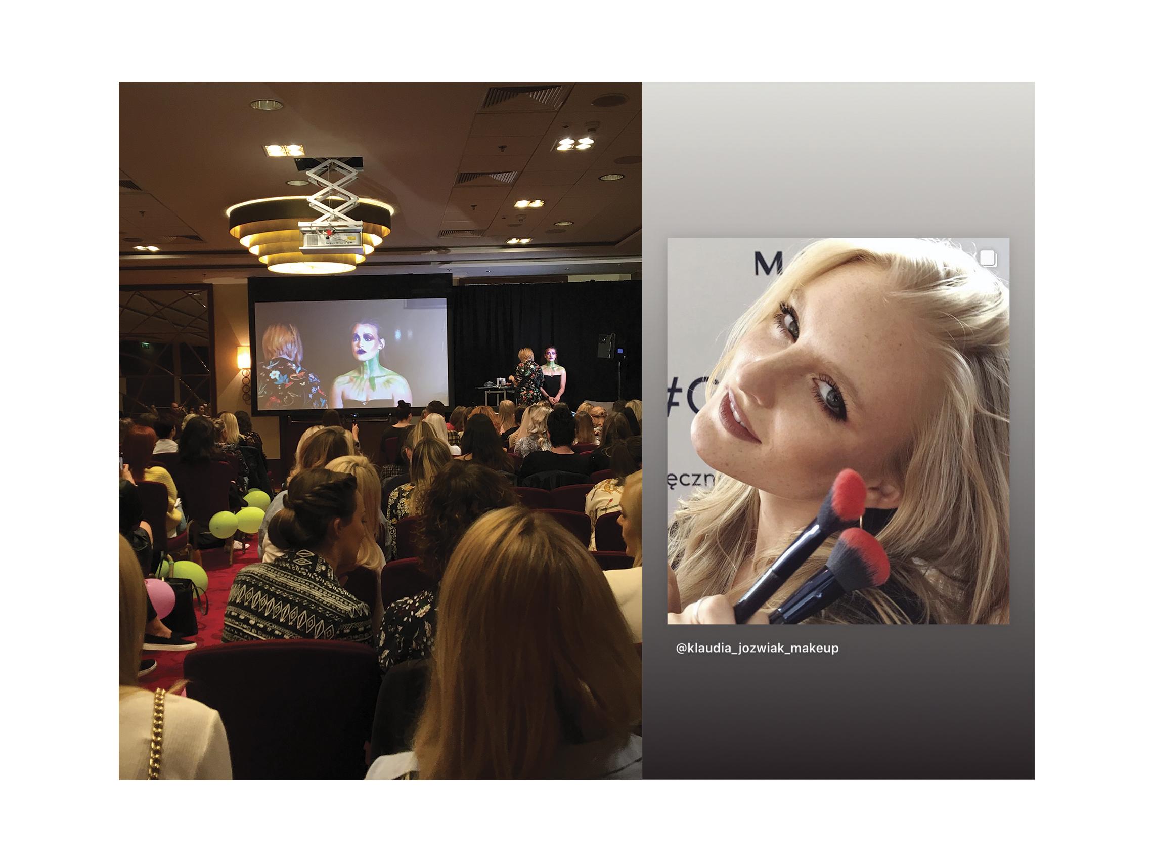SAY Makep na konferencji MakeUp Business