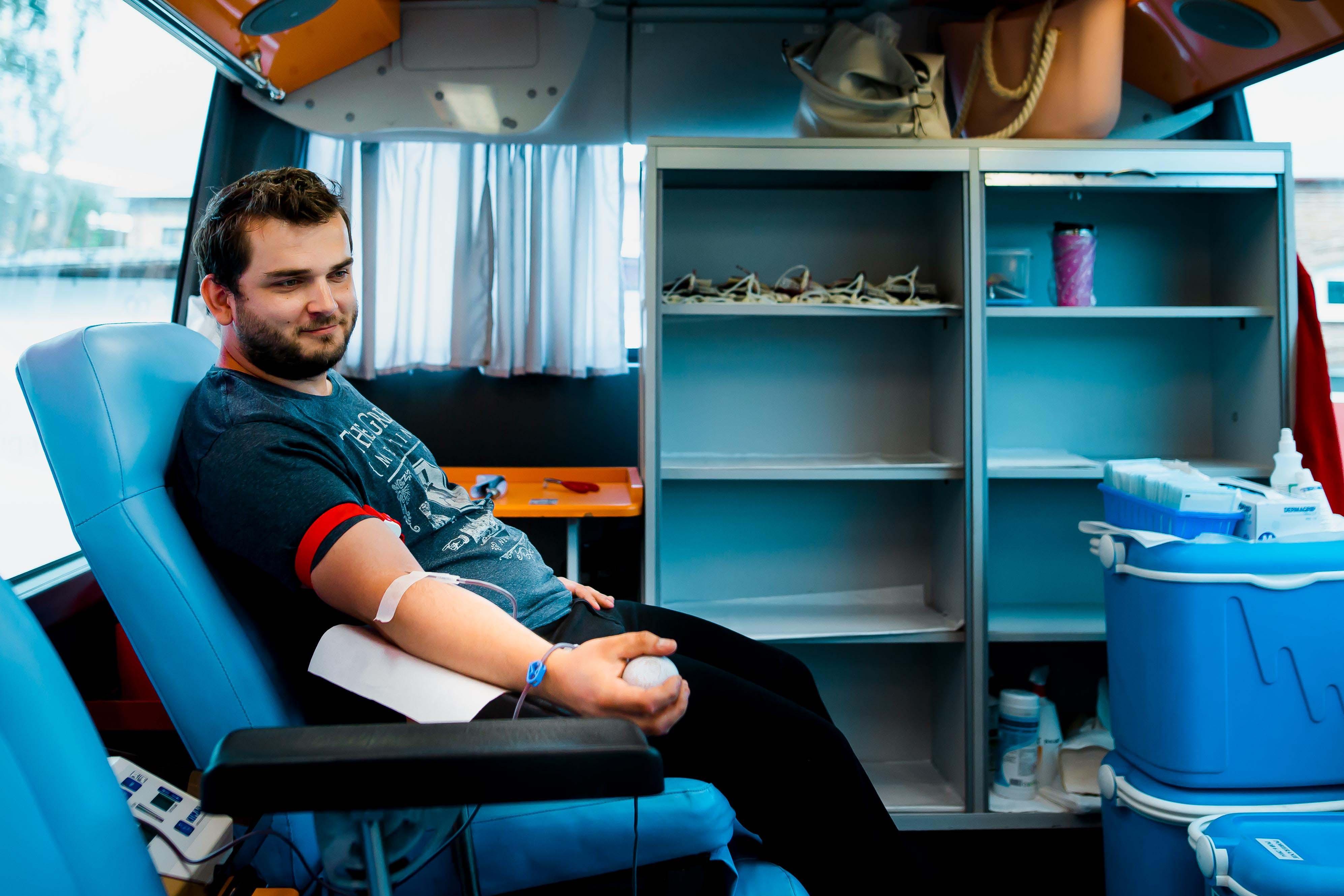 Abriga honorowym krwiodawcą