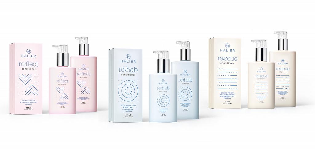 Halier wprowadza nowe linie szamponów i odżywek