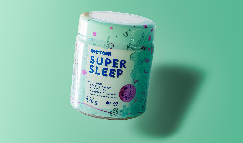 Oh!Tomi rozszerza ofertę: żelki Super Sleep